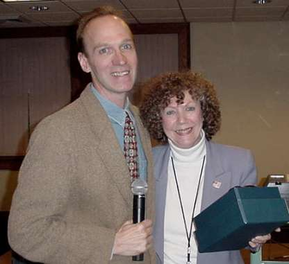 Photograph of Randy Enos and Barbara Bedell